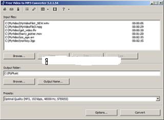 تحميل برنامج free video to mp3 converter